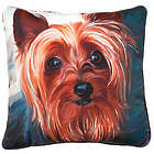 Yorkie Portrait Pillow