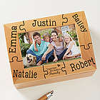 Together We Make a Family Personalized Photo Box