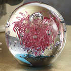 Glass Candy Explosion Paperweight