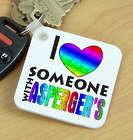 I Love Someone with Asperger's Key Chain