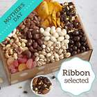 Organic Snacks Gift Box with Mother's Day Ribbon