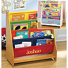 Personalized Canvas Bookcase