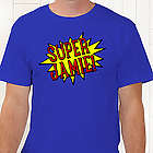 Super Hero Personalized T-Shirt