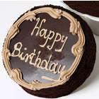 Small Chocolate Fudge Birthday Cake