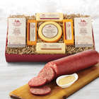 Summer Sausage and Cheese Party Gift Box