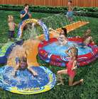Cyclone-Splash Park Water Slide with Pool