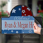 All American Personalized Magnet for Yard Stake