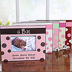 Baby Girl Picture Frame with Monogram