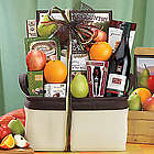 Bricklane Pinot Noir, Fruit and Favorites Gift Basket