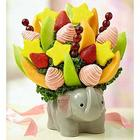 Precious Baby Girl Fruits and Sweets Bouquet