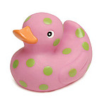 Polka Dot Rubber Ducky