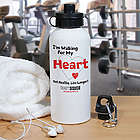 Heart Disease Awareness Water Bottle