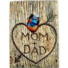 Bluebird Mates Personalized Wall Plaque