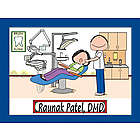 Personalized Dentist Office Cartoon