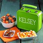 Personalized Halloween Delights Mini Lunch Box Gift Tin