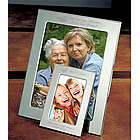 Personalized Butterfly Silver Picture Frame