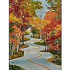 The Winding Road Door County Giclee Art Print