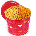For My Valentine 2-Gallon Popcorn Tin