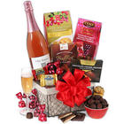 Champagne & Chocolate Gift Basket