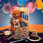 Surprise Birthday Teddy Bear and Sweets in Gift Box