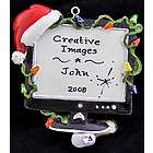 My Christmas Computer Personalized Ornament