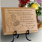 Personalized My Wonderful Grandmother Wooden Plaque