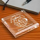 Personalized Architect Keepsake & Paperweight