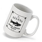 Personalized Cabin Series Coffee Mug