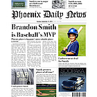 MVP Baseball Fake Newspaper Page