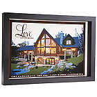 Customized Love Lives Here Home Portrait