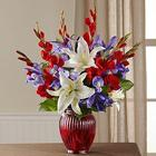 Love of Country Loyal Heart Sympathy Bouquet