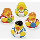 Bowling Rubber Duckies