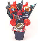 Patriot's Fan CookiePot Bouquet