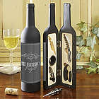 Hampton Wine Bottle Personalized Wine Accessory Kit