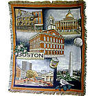Boston Landmarks Large Throw Blanket