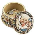 Madonna & Child Rosary Keepsake Box