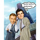 Businessmen Caricature Personalized from Photo