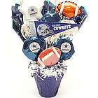 Dallas Cowboys Fan CookiePot Bouquet