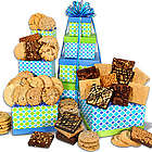 Cookies and Brownies Christmas Gift Tower