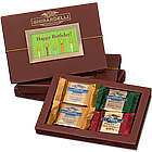 Happy Birthday Folio Gift Box with Squares Chocolates