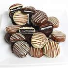 Triple Chocolate Dipped Oreo Cookies