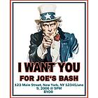 Personalized Uncle Sam Poster