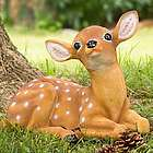 Baby Deer Garden Statue
