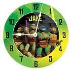 Personalized Teenage Mutant Ninja Turtles Power Wall Clock