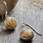 Personalized Say It with Sand Drop Earrings