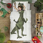 T-Rex Dinosaur Twin Bedding