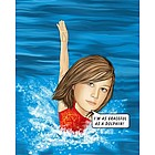 Swimming Caricature from Photo Print