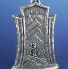 Retiring Well and Wisely Mini Pewter Plaque
