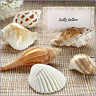 Shells by the Sea Authentic Shell Placecard Holder & Placecard