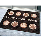 Paws Personalized Doormat